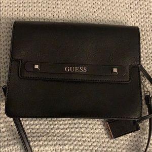 Guess black purse